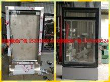 不锈钢立式灯箱及太阳能滚动灯箱